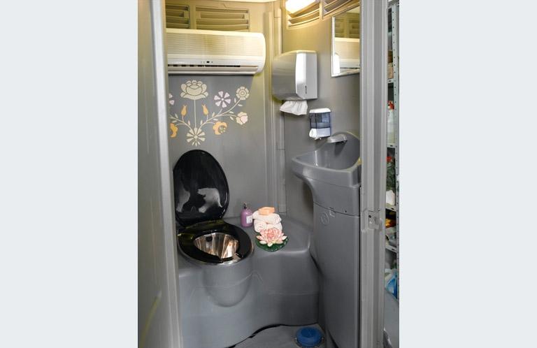 אולטרה מידי שירותים כימיים | שירותים כימיים ניידים | השכרת שירותים כימיים מחיר PV-02